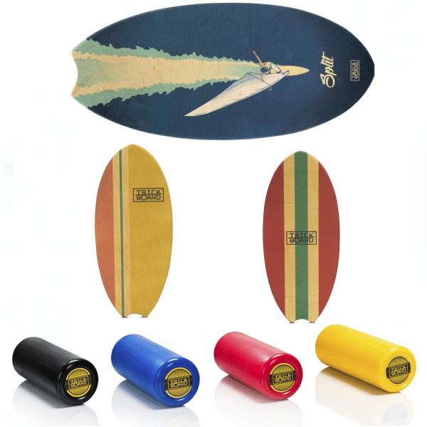 Trickboard surfer